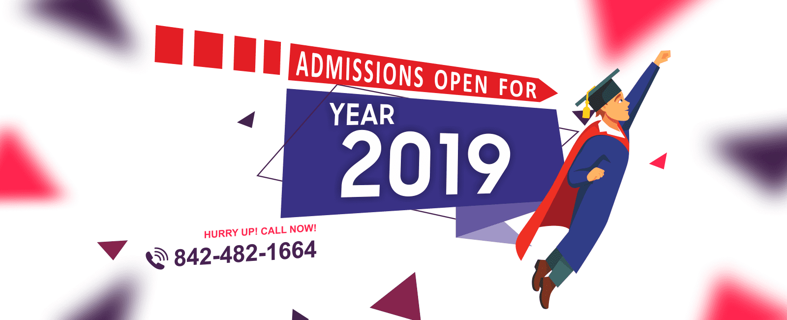 new admission open